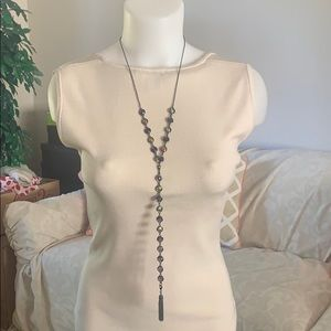 NEW Gorgeous Iridescent 2-in-1 Necklace &Bracelet